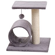 MAGIC CAT odpočívadlo Helen 35×40×54cm sivé - Škrabadlo pre mačky
