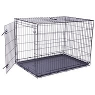 DOG FANTASY klietka skladacia XL čierna 1 dvere – 106,5×76×71cm - Klietka pre psa