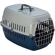 DOG FANTASY prepravka Carrier 58×35×37cm modrá - Prepravka pre psa