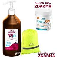 Vitar Veterinae Artivit sirup 1000ml + Zadarmo DentOn 100g + Bag - Kĺbová výživa pre psov