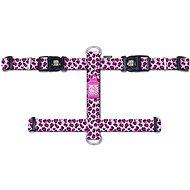 Max & Molly H Postroj, Leopard Pink, Veľkosť L - postroj