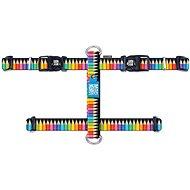 Max & Molly H Postroj, Crayons, Veľkosť L - postroj