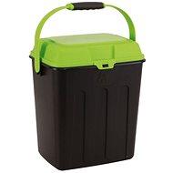 Zásobník na granule Maelson Box na granule na 3,5 kg krmiva – čierno-zelený – 27× 22× 31 cm