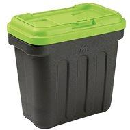Zásobník na granule Maelson Box na granule na 7,5 kg krmiva – čierno-zelený – 41×25×33 cm