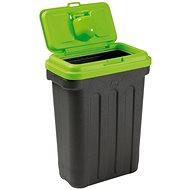 Maelson Box na granule na 15 kg krmiva – čierno-zelený – 41× 25× 56 cm - Zásobník na granule