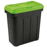 Zásobník na granule Maelson Box na granule na 20 kg krmiva – čierno-zelený – 54× 31× 58 cm