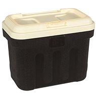 Maelson Box na granule na 7,5 kg krmiva – čierno-béžový – 41×25×33 cm - Zásobník na granule