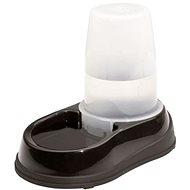Maelson Miska na vodu so zásobníkom na 2 500 ml vody – čierno-biela – 21 × 35 × 28 cm - Miska pre psa