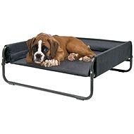 Maelson Skladací cestovný pelech – antracitový – 86 × 86 × 34 cm - Pelech pre psa