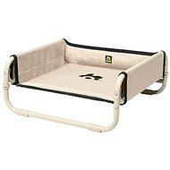 Maelson Skladací cestovný pelech – béžový – 56 × 56 × 24 cm - Pelech pre psa