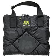Maelson Cestovná deka -– čierno-béžová – 80 × 45 cm - Deka pre psa do auta