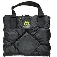 Maelson Cestovná deka + autopoťah – čierno-béžový – 200 × 150 cm - Deka pre psa do auta