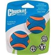Chuckit! Ultra Squeaker Ball Small – 2 na karte - Loptička pre psov