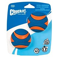 Chuckit! Ultra Squeaker Ball Medium – pískacia – 2 na karte - Loptička pre psov