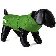 Obojstranná bunda pre psov Doodlebone Green/Orange XS - Oblečenie pre psov