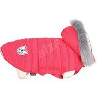 Zolux Oblek prešívaná bunda pre psov URBAN červená - Oblečenie pre psov