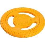 Kiwi Walker Lietacie a plávacie frisbee z TPR peny, oranžová, 22 cm - Frisbee pre psa