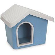 IMAC Búda pre psa plastová – modrá – D 53 × Š 46 × V 47,6 cm
