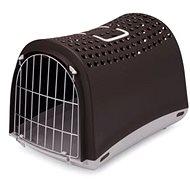 IMAC Prepravka pre psa a mačku plastová – hnedá – D 50 × Š 32 × V 34,5 cm - Prepravka pre psa