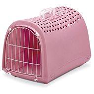 IMAC Prepravka pre psa a mačku plastová – ružová – D 50 × Š 32 × V 34,5 cm - Prepravka pre psa