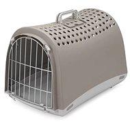IMAC Prepravka pre psa a mačku plastová – sivá – D 50 × Š 32 × V 34,5 cm - Prepravka pre psa