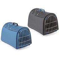 IMAC Prepravka pre psa a mačku z recyklovaného plastu – modrá – D 50 ×  Š 32 × V 34,5 cm - Prepravka pre psa