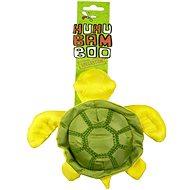 Huhubamboo animal - Korytnačka zelená/hnedá, 22 cm - Hračka pre psov