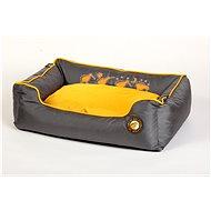 Kiwi Walker pelech pre psa Running z ortopedickej peny, oranžový - Pelech pre psa