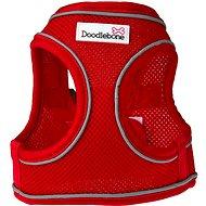 Doodlebone Airmesh Snappy Red S - Postroj pre psa