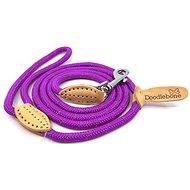 Sťahovacia lanová vôdzka Doodlebone Purple - Vodítko pre psa