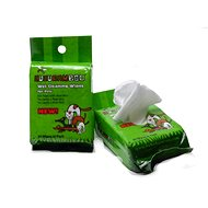 Huhubamboo čistiace obrúsky na labky 30 ks - Hygienické utierky pre psov