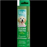 Prostriedok na zuby Tropiclean čistiaci gél Fresh Breath pre šteňatá 59 ml