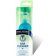 Prípravok na uši Tropiclean kvapky na čistenie uší – dvojaký účinok 118 ml