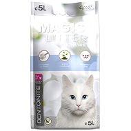 MAGIC PEARLS Kočkolit ML Bentonite Ultra White 5 l - Podstielka pre mačky