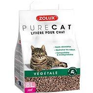Zolux PURECAT natural absorb. rostlinná 8l - Podstielka pre mačky