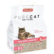 Zolux PURECAT scented absorbent 8l - Podstielka pre mačky