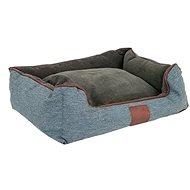 Akinu Chester S hnedá/sivá – 55 × 50 × 20 cm - Pelech pre psov a mačky