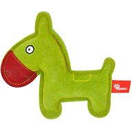 Akinu hračka oslík Premium koža zelený