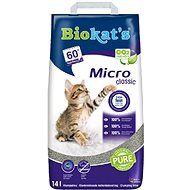 Biokat´s micro classic 14 l - Podstielka pre mačky