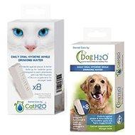 Prostriedok na zuby Akinu Dentálna starostlivosť pre mačky aj psy H2O, 8 ks