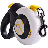 Fida Autobrake Samonavíjacie vodítko páskové biele S / do 12 kg - Vodítko