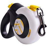 Fida Autobrake Samonavíjacie vodítko páskové biele M / do 25 kg - Vodítko
