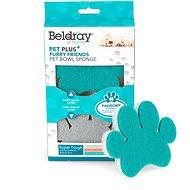 Beldray Paw sivá, modrá 2 ks - Umývacia hubka