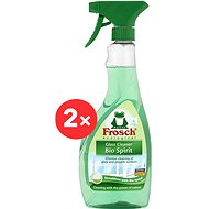 FROSCH Spiritus for Glass 2 × 500ml - Eco-Friendly Cleaner