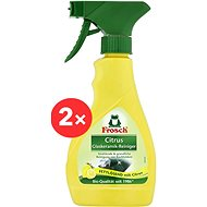 FROSCH Cleaner for Induction and Glass-ceramic Hobs 2 × 300ml - Eco-Friendly Cleaner