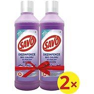 SAVO Bez Chloru Levandule 2× 1 l