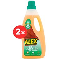 ALEX Cleaner and extra power for wood 2 × 750 ml - Cleaner