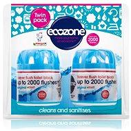 ECOZONE WC osviežovač a čistič 2× 95 g - Ekologický čistiaci prostriedok