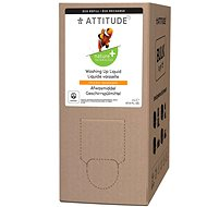 ATTITUDE Dishwashing Detergent with the Scent of Lemon Peel - Spare Canister 2l - Eco-Friendly Dish Detergent