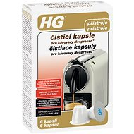 HG Cleaning Capsules for Nespresso® Coffee Machines 6 pcs - Coffee Machine Cleaner